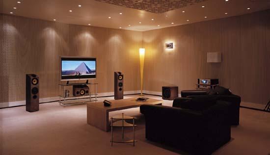 de integratie van een goede subwoofer in uw systeem b w in een home cinema systeem frans van. Black Bedroom Furniture Sets. Home Design Ideas