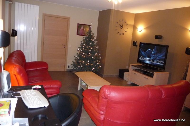 realisaties b w home cinema met plasma tv frans van eeckhout. Black Bedroom Furniture Sets. Home Design Ideas