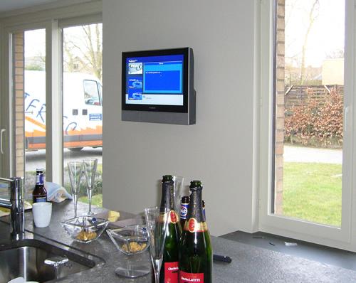 Tv In Keuken : Realisaties home cinema met plasma tv frans van eeckhout