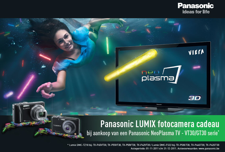 Panasonic 3D TV neo 30-serie